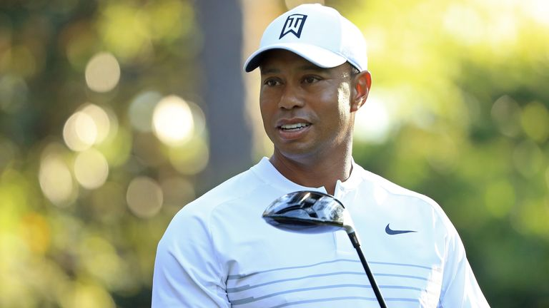 Woods last won at Augusta in 2005