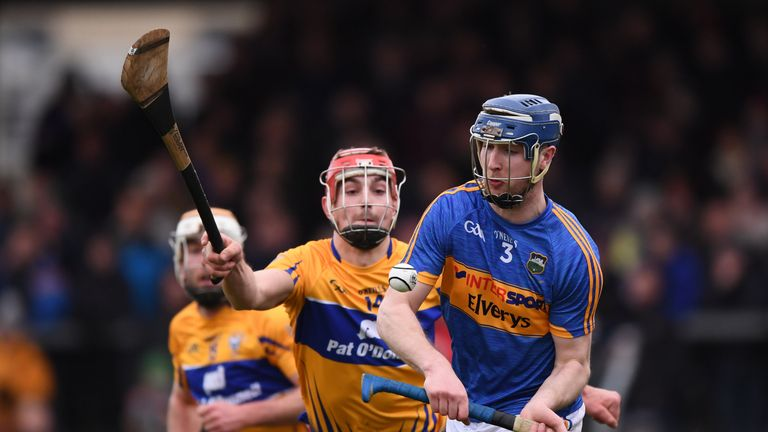 Tomas Hamill, pictured in action against Clare earlier this year, has been released from the squad