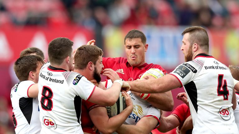 Tempers flared up in the second half between both sides
