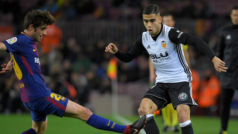 Andreas Pereira has impressed this season while on loan at Valencia