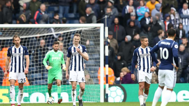West Brom have lost more points from winning positions than any other side since 2013