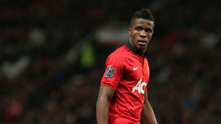 Wilfried Zaha left Manchester United having only made four appearances