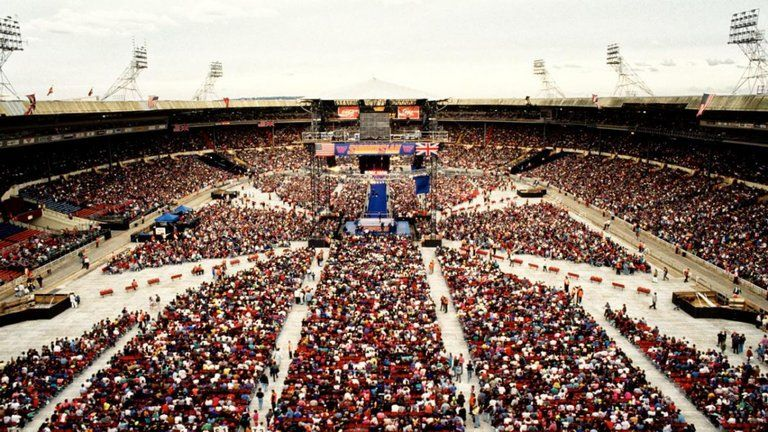 Wembley Stadium hosted SummerSlam 1992 and it is still considered one of the WWE's greatest events