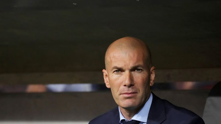 Real boss Zinedine Zidane has urged the holders to attack Bayern