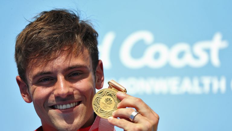 Tom Daley says his career took off after SportsAid recognition