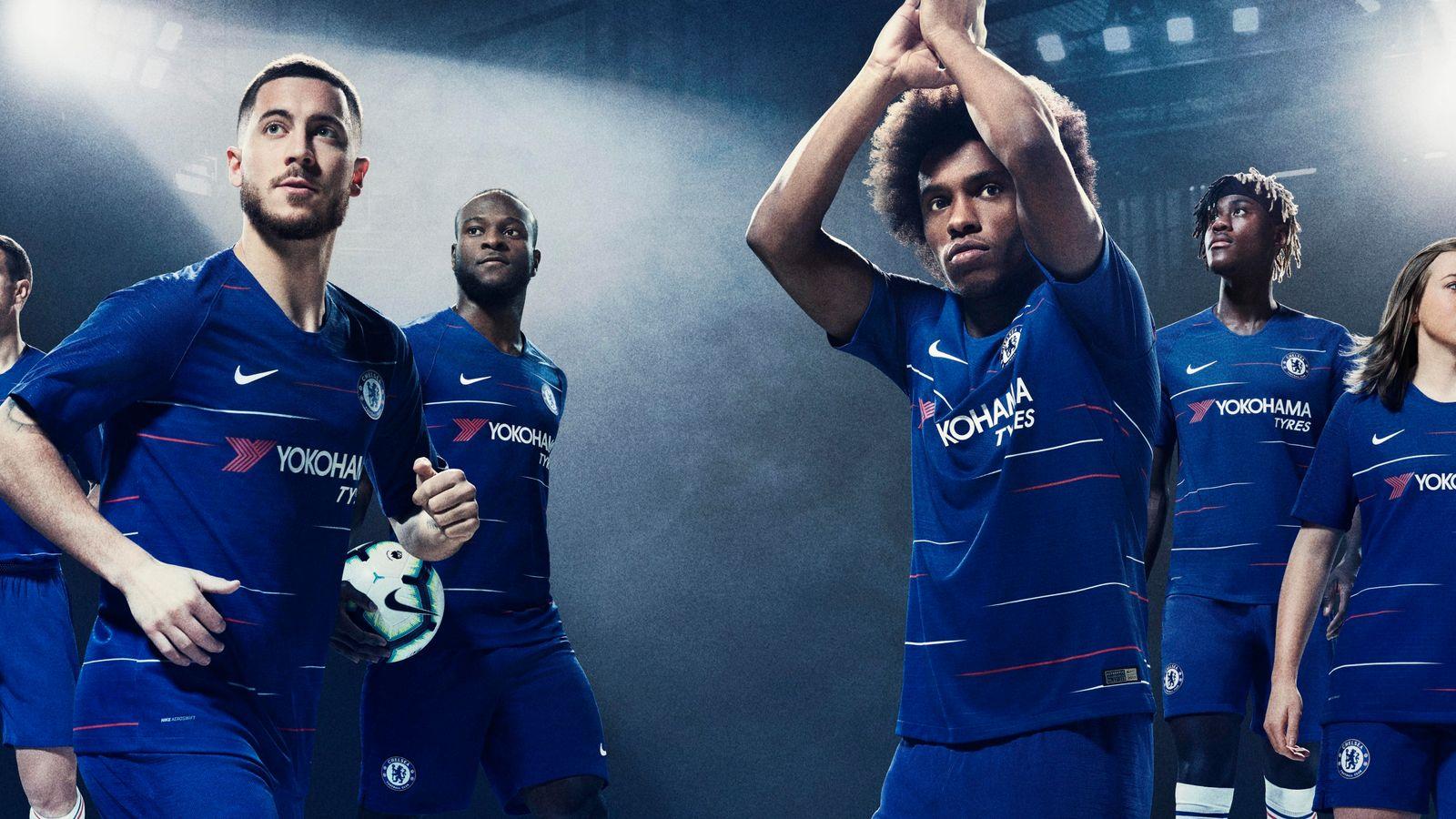 09bcbd0510d New football kits  Premier League strips for the 2018 19 season ...