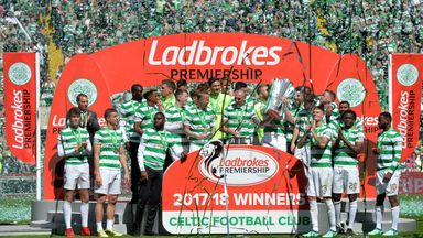Celtic are aiming to win their eighth consecutive Scottish title this season