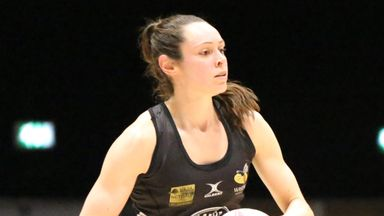 Hannah Knights led Wasps Netball to back-to-back league titles