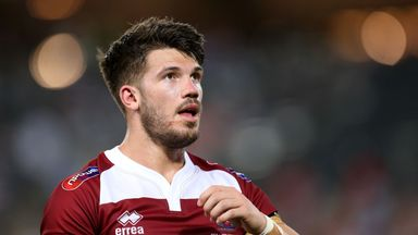 A try from Oliver Gildart sealed the win for Wigan Warriors