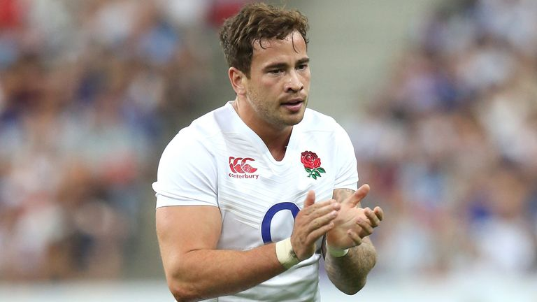 Danny Cipriani could make his first England appearance since the 2015 World Cup warm-ups