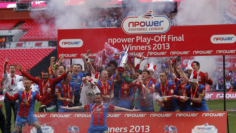 Jedinak helped Crystal Palace to promotion five years ago, with a 1-0 win over Watford