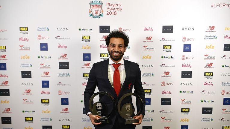Mohamed Salah has now won four individual awards this season