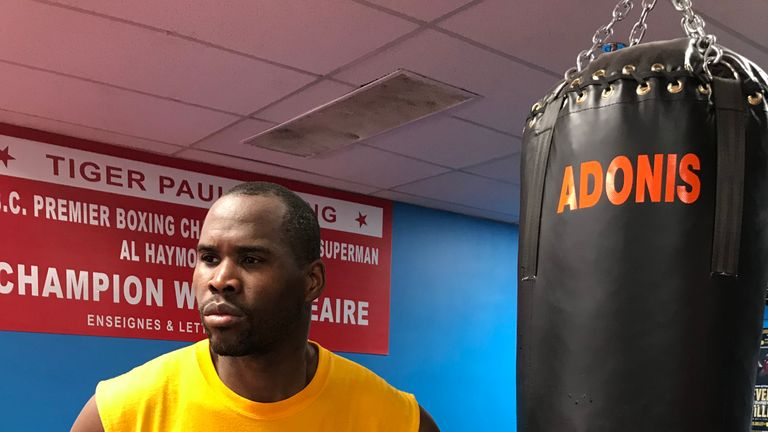 Stevenson has lost just once in a 30-fight career