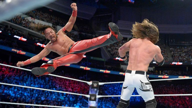 Shinsuke Nakamura and AJ Styles have put on several great matches