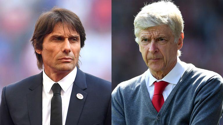 82410f115 Arsene Wenger and Antonio Conte favourites to replace Zinedine ...