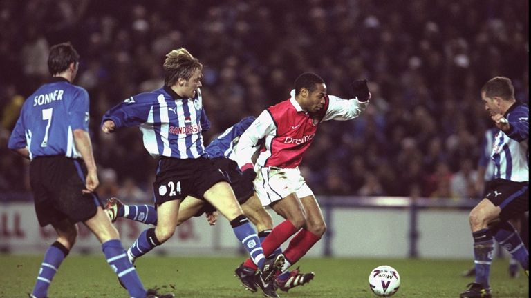Arsenal failed to win at Hillsborough in January 2000