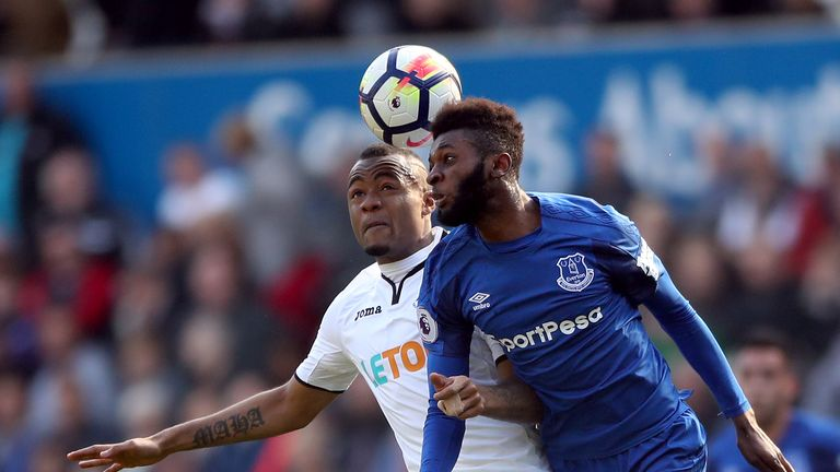Beni Baningime has made 12 appearances for Everton