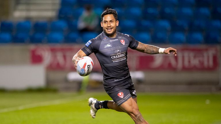 Ben Barba is back in the St Helens squad after recovering from injury