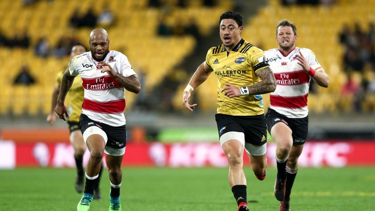 The Hurricanes outscored the Lions by four tries to three