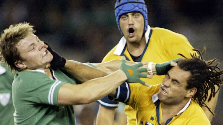 Brian O'Driscoll and George Smith were apart of some memorable Ireland v Australia Tests throughout the years