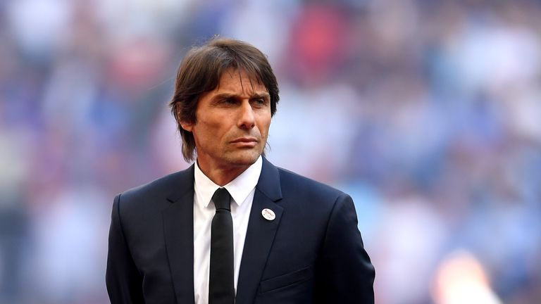 Chelsea would also have to compensate current manager Antonio Conte