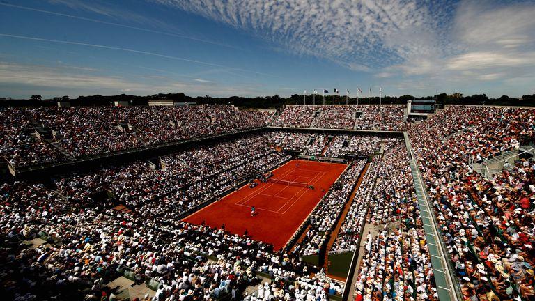 Court Philippe Chatrier at Roland Garros