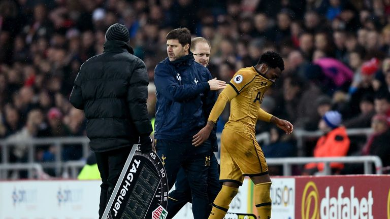 Rose has fallen out of favour this season under Pochettino