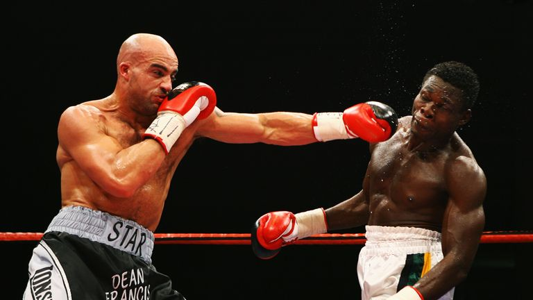 Francis won titles at super-middleweight, light-heavyweight and cruiserweight