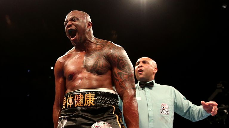 Dillian Whyte is ranked highly by the WBO