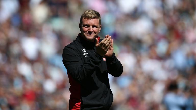 Howe is now the Premier League's longest-serving manager