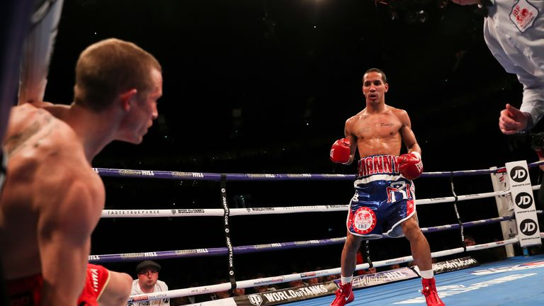 Rodriquez floored Butler twice in the opening round of his IBF win