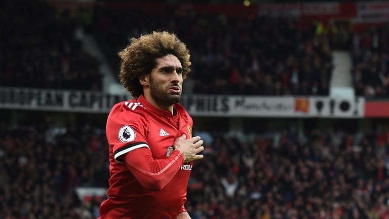 Arsenal reportedly remain keen on Marouane Fellaini