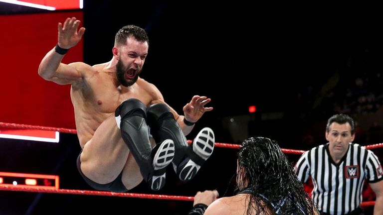 Finn Balor appeared to take something of a backward step this week