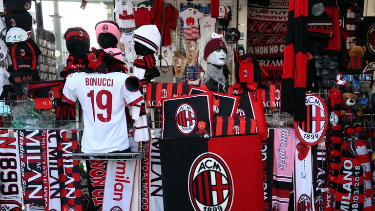 There are concerns over whether Milan's owners can repay loans they took out to finance the purchase of the club