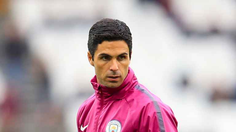 Manchester City assistant coach Mikel Arteta has been linked with a move to Arsenal