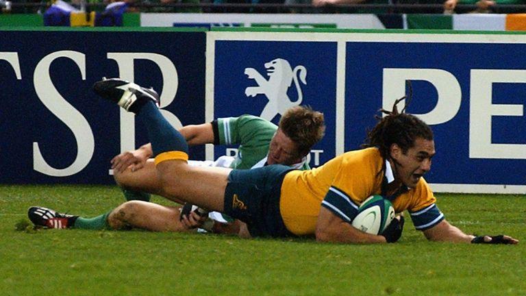 Smith won 111 caps for Australia, scoring nine tries