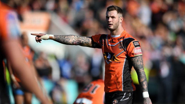 """Zak Hardaker was offered a """"minimum wage"""" contract by Castleford"""