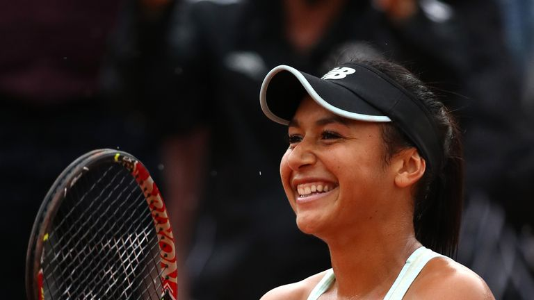 Heather Watson will be hoping to progress to the main draw at Roland Garros for the eighth time