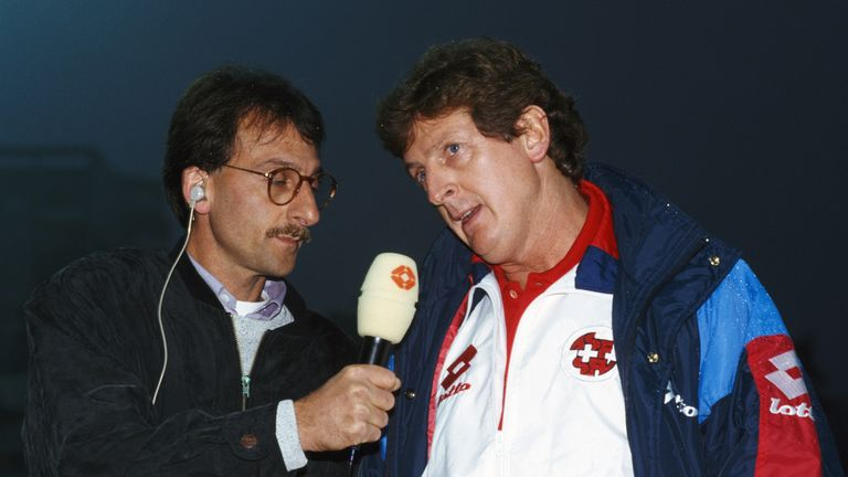 Hodgson learned French and German to help communicate with the players