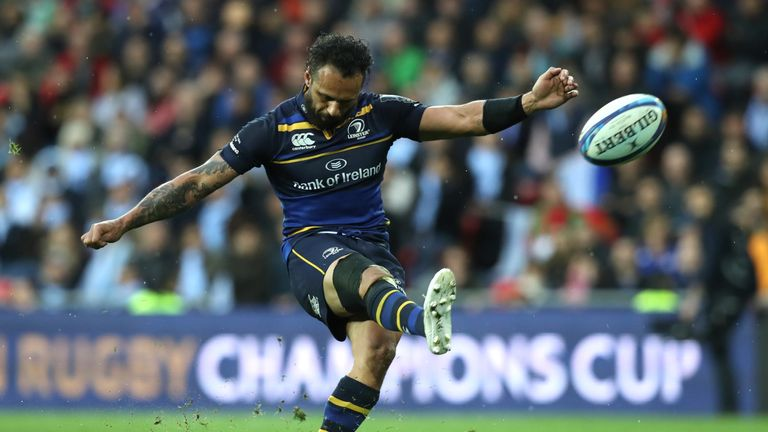 Nacewa's final kick of a ball in his European career clinched his and Leinster's fourth European crown