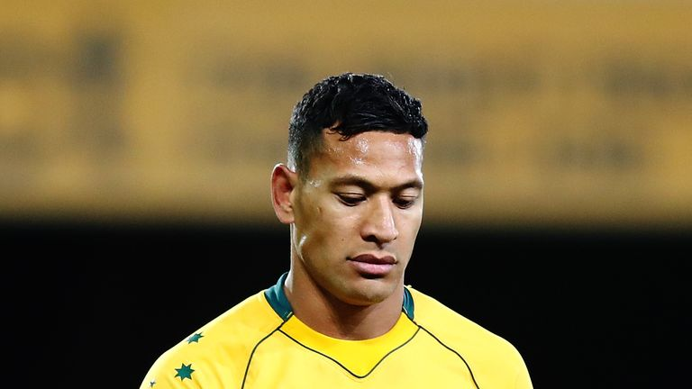 Israel Folau remains a key figure for Australia ahead of the forthcoming Test series against Ireland, despite the off-field controversy caused by his comments