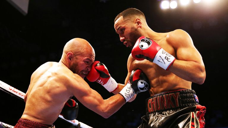 DeGale took the IBF title back from Caleb Truax