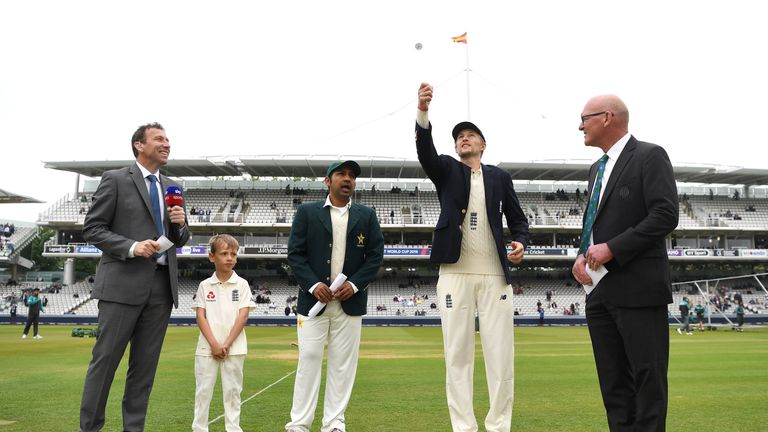 The coin toss before Test matches appears set to stay