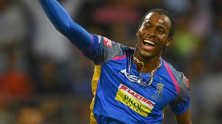 Jofra Archer is now qualified to play for England and could earn a World Cup spot with a strong IPL showing (Credit: AFP)