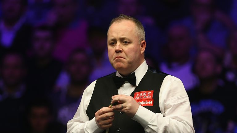 John Higgins and Judd Trump are level heading into their decisive evening session