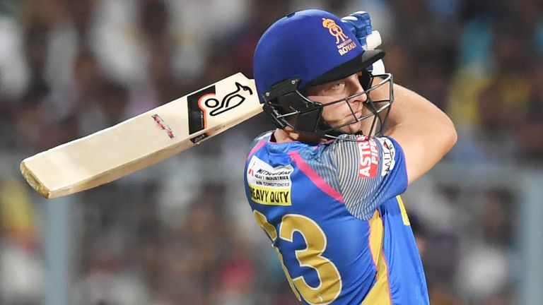 Jos Buttler was the star of the show from the England contingent in the 2018 IPL (Credit: AFP)