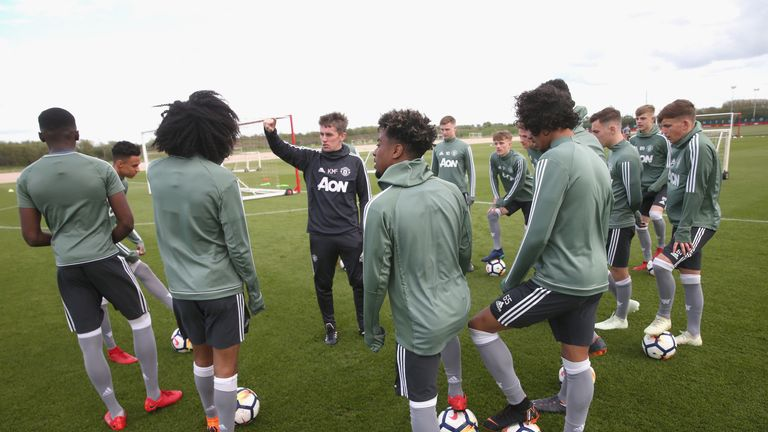 McKenna has earned a reputation for developing young talent in his roles at Tottenham and Manchester United