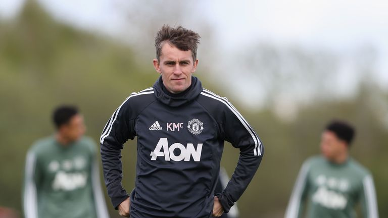 Kieran McKenna has been promoted from his role as U18s coach into Jose Mourinho's coaching staff