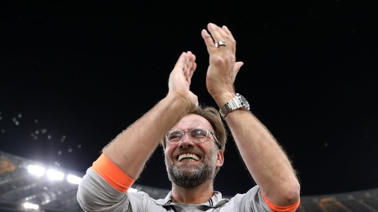 Jurgen Klopp is yet to win a trophy at Liverpool