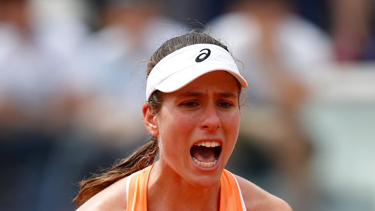 Johanna Konta will take on Yulia Putintseva in the first round of the French Open